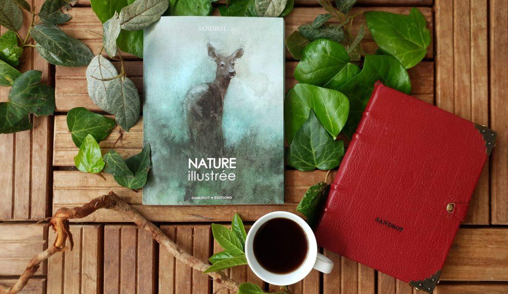 """Couverture du livre """"Nature illustrée"""" par Sandrot Diffusion"""
