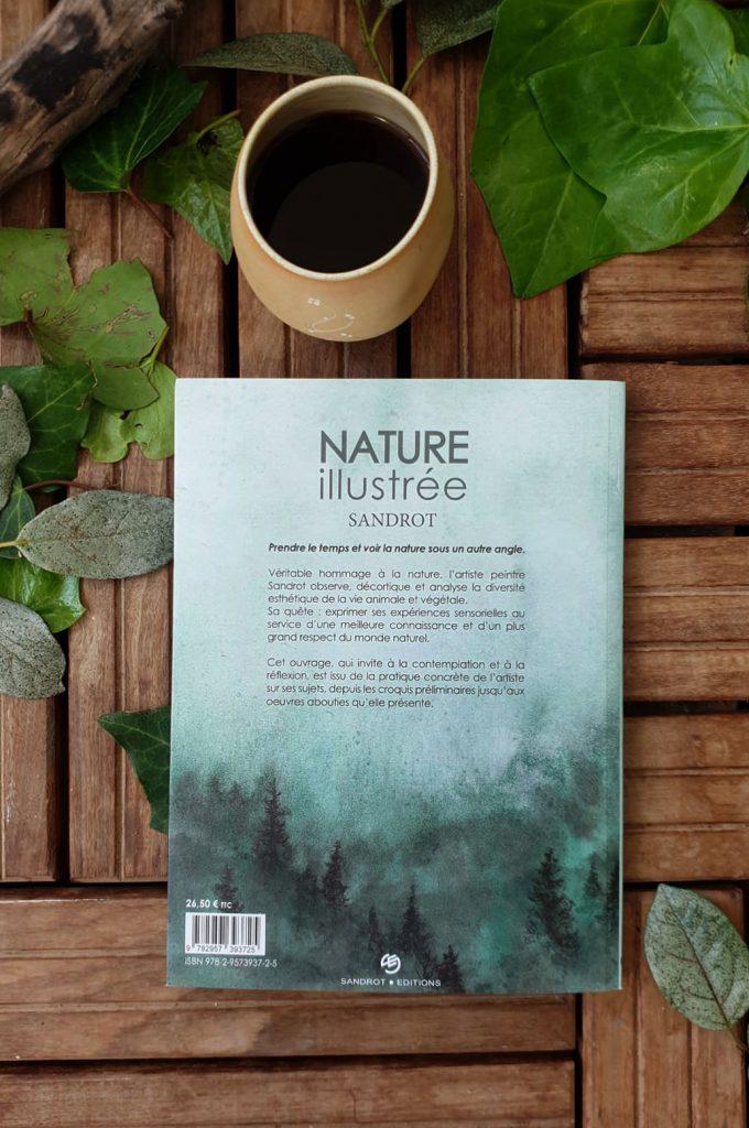 """Quatrième de couverture de """"Nature illustrée"""" par Sandrot Diffusion"""